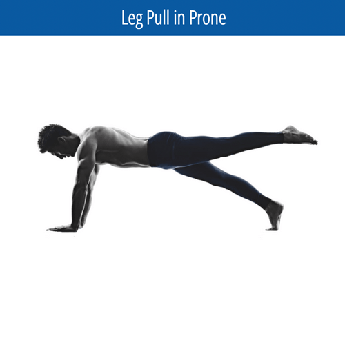 Leg Pull in Prone Image